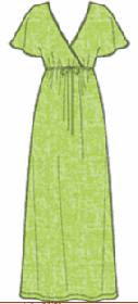 Выкройки на домашнее платье