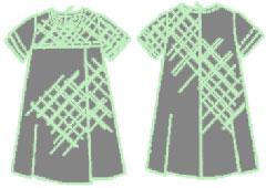 Как сшить выкроенное платье