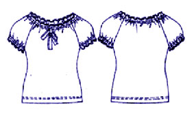 Выкройка юбок брюк