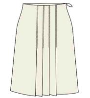 выкройки юбок бесплатно: выкройка юбки со складками