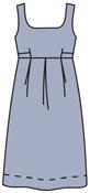 выкройка платья сарафана