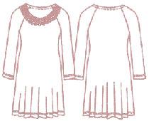 Выкройки платьев с регланом скачать