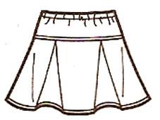 Школьные детские юбки выкройки