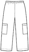 Выкройка брюк на резинке мужские фото 385