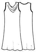 Платье без выкройки качели