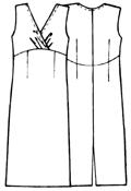 Выкройка платья с запахом 46 размер фото 231