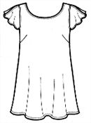 Выкройка юбки трапеции своими руками