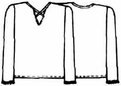 выкройка блузки из трикотажа