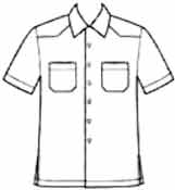 Мужские выкройки: выкройка мужской рубашки