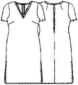 выкройки платьев: туника