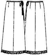 бесплатные выкройки юбок: длинная юбка