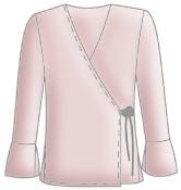 Блузка просто своими руками