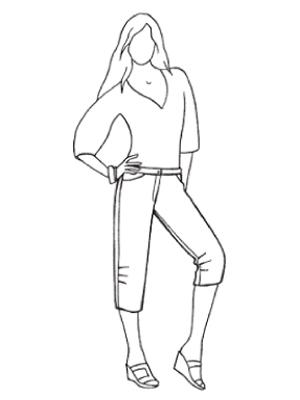 Схема вязания крючком шапокляк