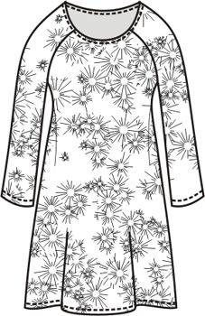 5b2e8f13abc выкройка платья с длинным рукавом